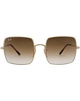 Ray-Ban Metal Square Sunglasses