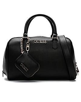 Guess Calista Box Satchel Bag