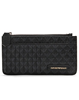 Emporio Armani Logo Card Holder Purse