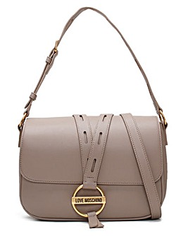 Love Moschino Circle Detail Shoulder Bag