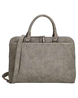 "Enrico Benetti Metz Large Faux Leather 13"" Laptop Workbag"