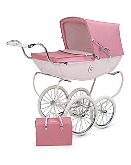 Silvercross Chatsworth Rose Dolls Pram