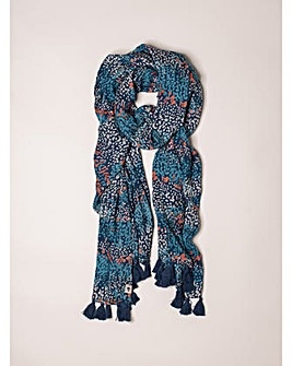 Brakeburn Heather Tassel Scarf