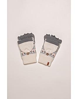Brakeburn Fairisle Knit Mittens