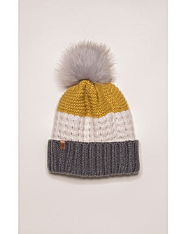 Brakeburn Colour Block Knit Hat