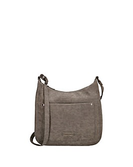Enrico Benetti Bobbi Single Handle Faux Leather Shoulderbag