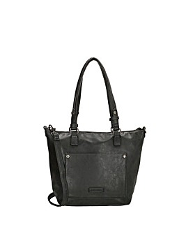Enrico Benetti Bobbi 2 Handle Faux Leather Shoulderbag