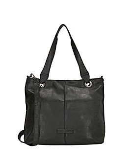 Enrico Benetti June 2 Handle Faux Leather Tablet Shopper