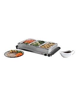 Elgento 3x 1.2Litre Server and Hotplate