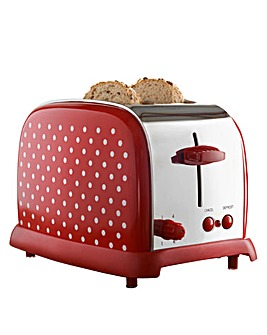 Kitchen Originals Polka Dot Toaster