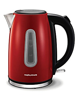 Morphy Richards Equip Red Kettle