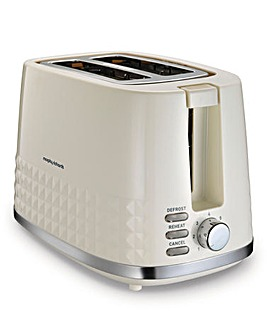 Morphy Richards Dimensions Cream Toaster