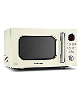 Morphy Richards 23Litre Cream Microwave
