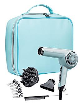Remington Retro Blue Hair Dryer Gift Set