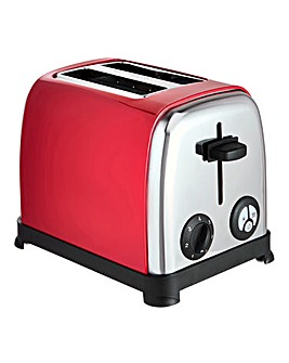 JDW 2 Slice Red Toaster