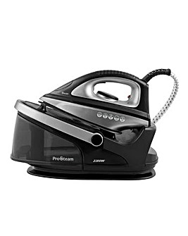Swan SI11010BLKN 2200W Non-Pressurised Black Steam Generator Iron