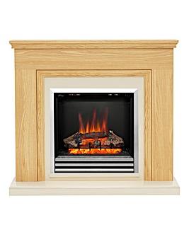 Be Modern Stanton Oak Fire Suite