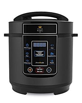 Pressure King Pro 3 Litre Black Cooker