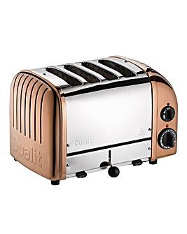 Dualit 47450 Classic Vario 4 Slot Copper Toaster