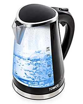 Tower T10012 LED Colour Changing Kettle