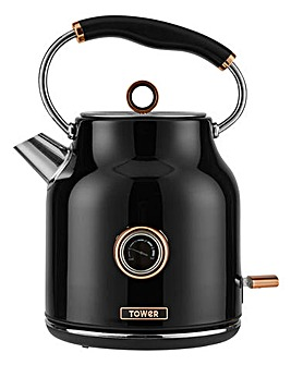 Tower T10020 3kW 1.7litre Black Kettle