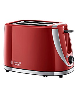 Russell Hobbs Mode 2 Slice Red Toaster