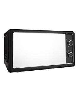 20L Manual Microwave - Black