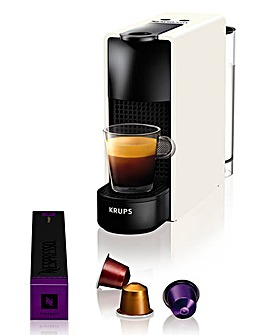Nespresso XN110140 Essenza Mini White Capsule Coffee Machine