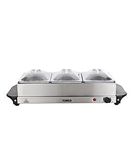 Tower Tray Buffet Server and Hotplate