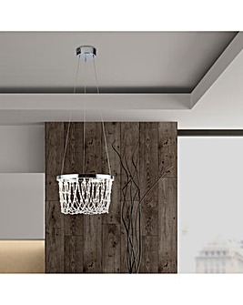Harper LED Acrylic Ceiling Fitting