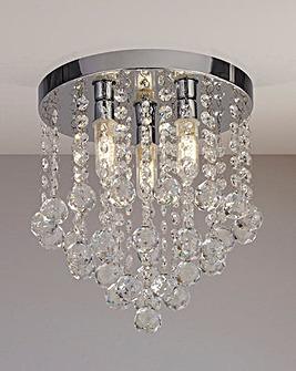 Ada Acrylic Drops Bathroom Light