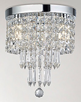 Kali Acrylic Drops Bathroom Light