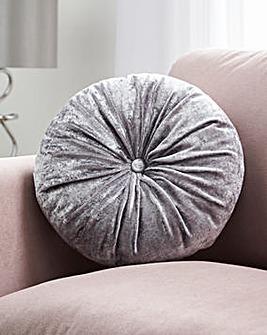 Circular Velvet Cushion