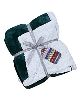 Cosy Sherpa Throw