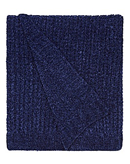 Chenille Basket Weave Throw