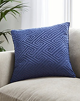 Velvet Jacquard Cushion