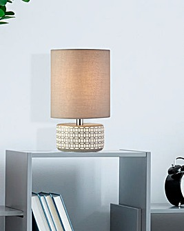 Geo Ceramic Table Lamp