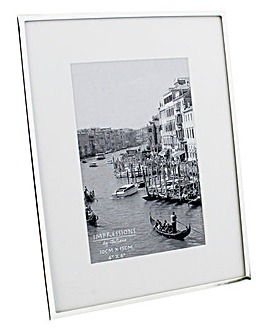 Silver Plated Photo Frame 4 x 6