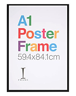 A1 Poster Frame Black