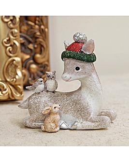 Hand Painted Deer Ornament