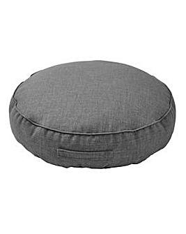 Linen Round Floor Cushion