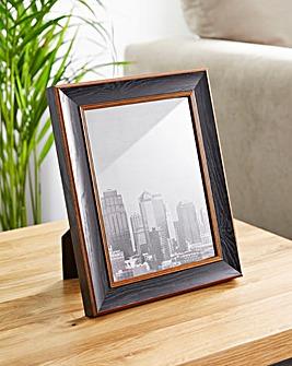 Wood & Bronze Finish 6 x 8 Frame