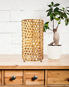 Mateo Bamboo Table Lamp