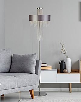 Alina Chainmail Floor Lamp