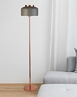 Brunswick Copper Floor Lamp