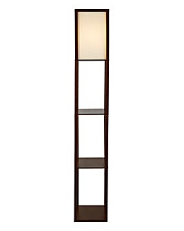 Rutland Shelf Floor Lamp