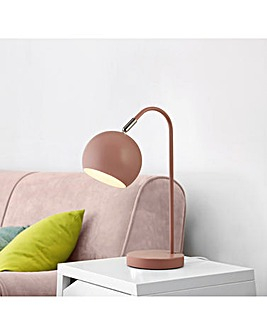 Pink Arc Table Lamp