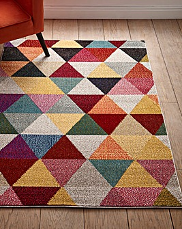 Mika Abstract Rug Large