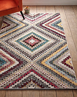 Global Diamond Rug Large