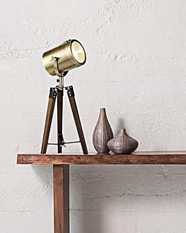 Utah Industrial Head Table Lamp